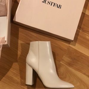 White booties (fit like size 9-9.5)